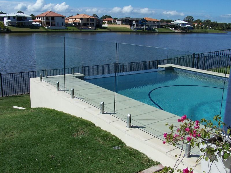 Pool Fencing Gold Coast Qld Total Vision Glass Pool Fencing